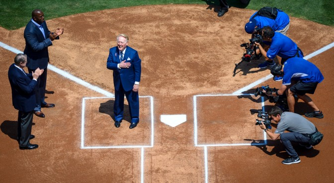 Vin Scully: Supports the Military. What about Police Brutality?