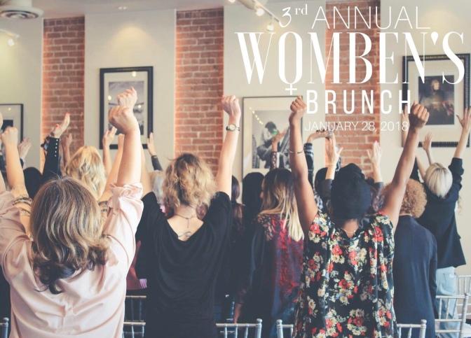 3rd Annual Women's Brunch by Woman 2 Womben