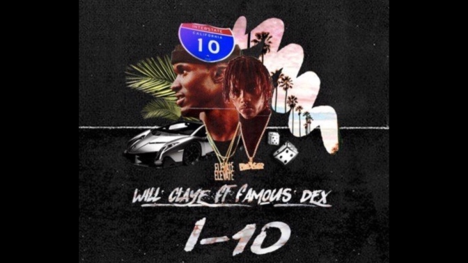 """I-10"" by Will Claye ft. Famous Dex (Audio)"